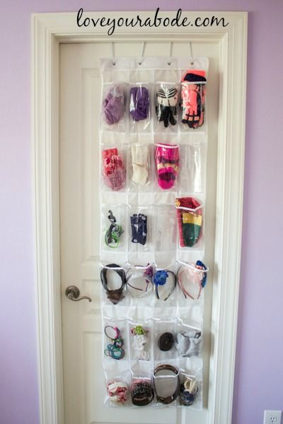 Over The Door Shoe Organizer For Kids Closets