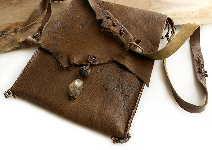 iPad case with shoulder strap in warm brown leather, in style of ancient talisman pouchIpad Cases, Brown Leather, Ancient Talisman, Warm Brown, Shoulder Straps, Talisman Pouch, Leather Case, Ipad Sleeve, Bags