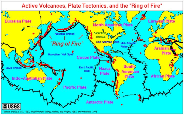 15 best tectonic forces images on pinterest earth science map of tectonic plates around world fandeluxe