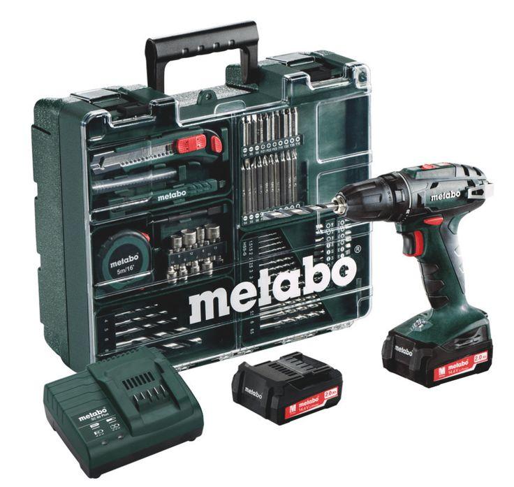 METABO BS 18 MOBILE schroefboor