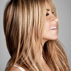 Thoroughly mist hair w/straight and comb thru Blow dry w/flat brush roots to end Mist dry w/straight flat iron