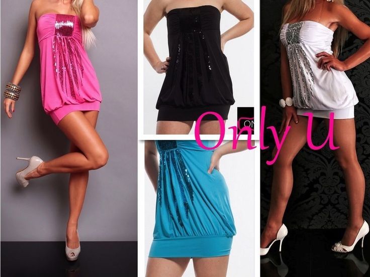 Sexy Women's Clubbing Party Dress Plus Size black Pink White XL 2XL & 3XL