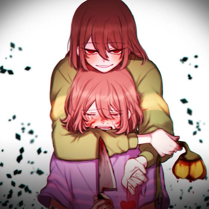 Chara And Frisk Undertale