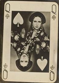 * Lise Deharme en Dame de Pique, 1931 photo Man Ray