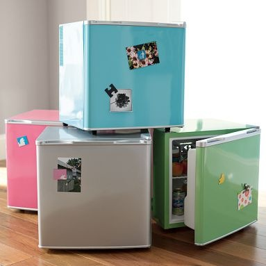PB teen mini fridge - I bought the green one for my dorm