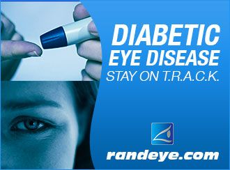 Read out blog about the 5 ways to stay on T.R.A.C.K. with your diabetes to safe guard your vision. https://www.randeye.com/diabetic-eye-disease-month-stay-on-track/