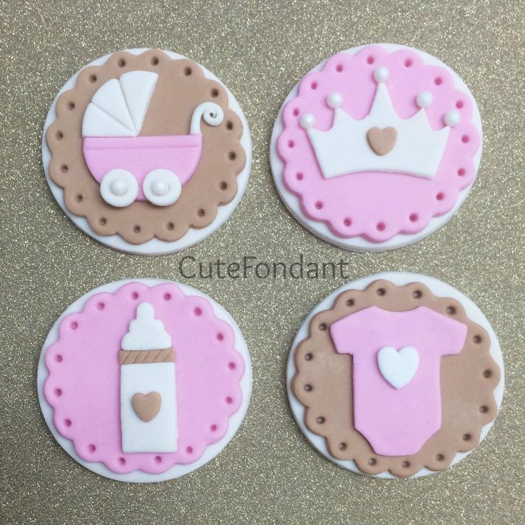 Cupcake Decorating Ideas Using Fondant : 25+ basta ideerna om Fondant Cupcake Toppers pa Pinterest ...