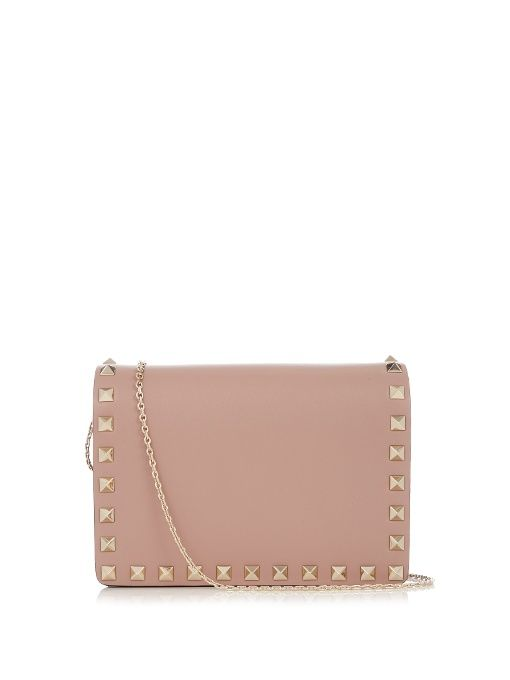 Valentino Rockstud leather cross-body bag