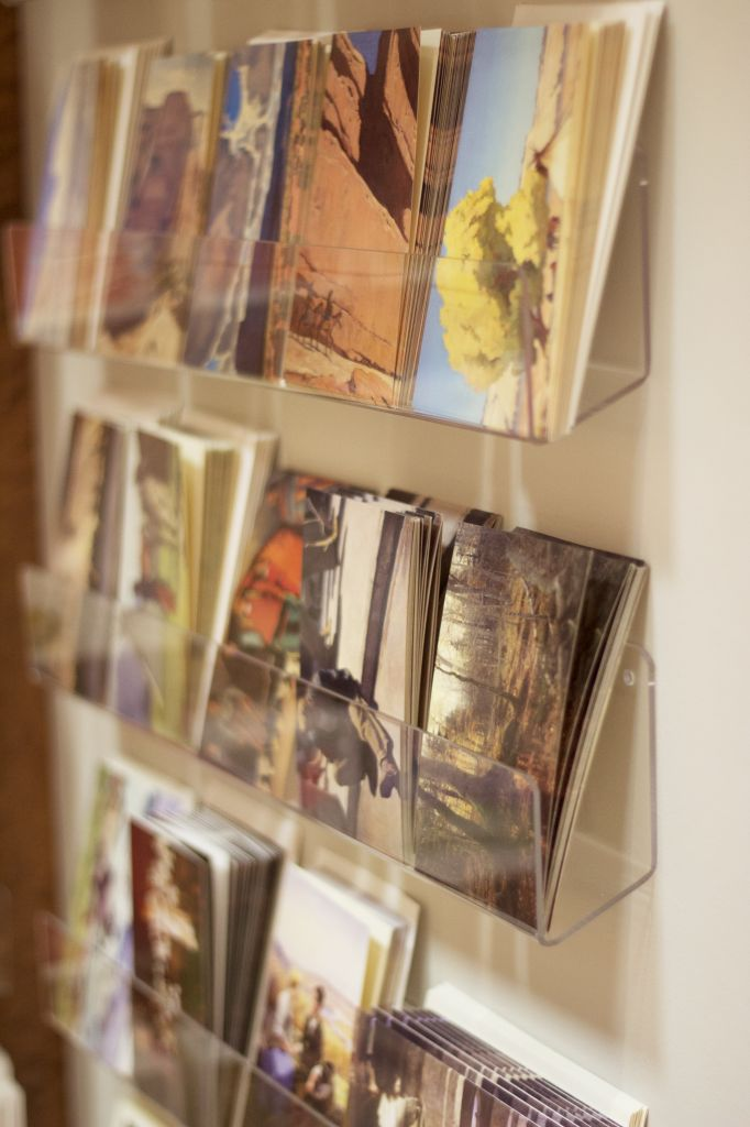 notecard and postcard display