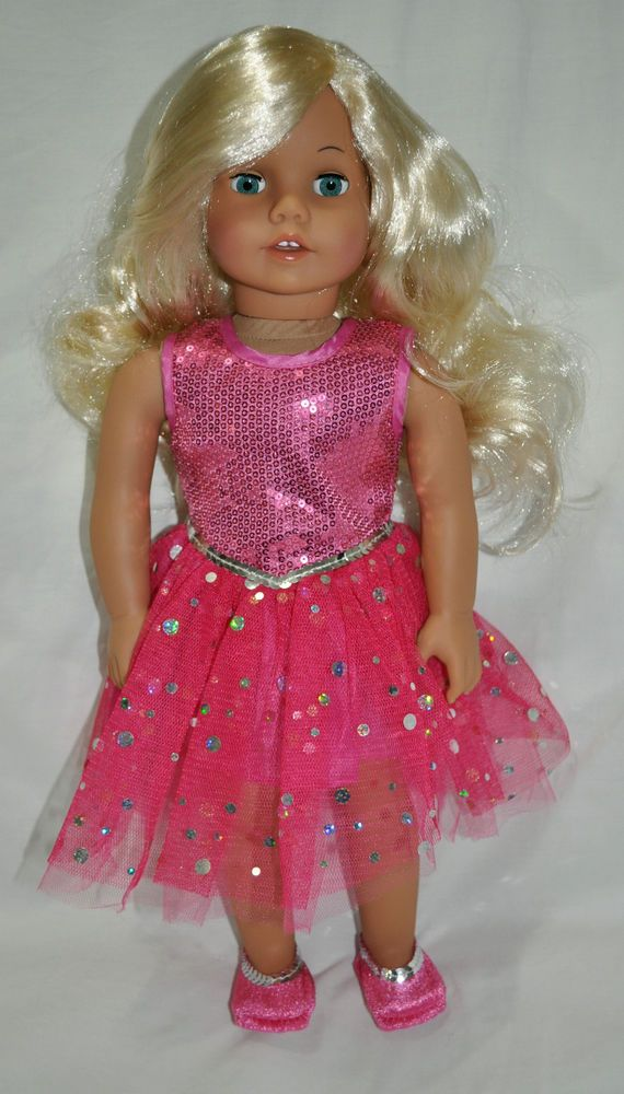 45 Cm American Girl Type Doll Generic 18 Doll With Clothes