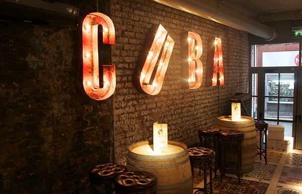 Revolucion De Cuba restaurant visual identitycuba