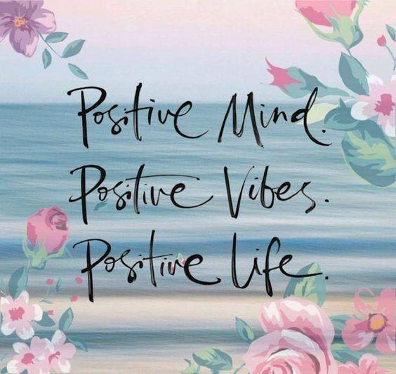 ✨ Be positive ✨ Y todo saldrá mejor 👍 #FelizMartes #DéjateInspirar