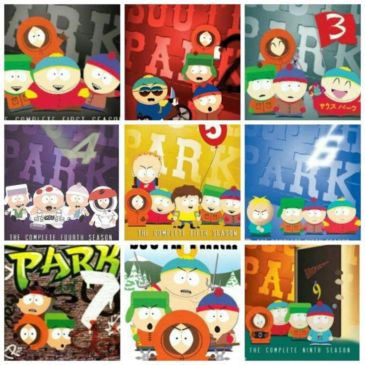South Park (Comedy Central) Seasons 1-9