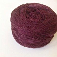 Fir de crosetat si tricotat, bumbac 100%, violet, catifelat moale - Ata