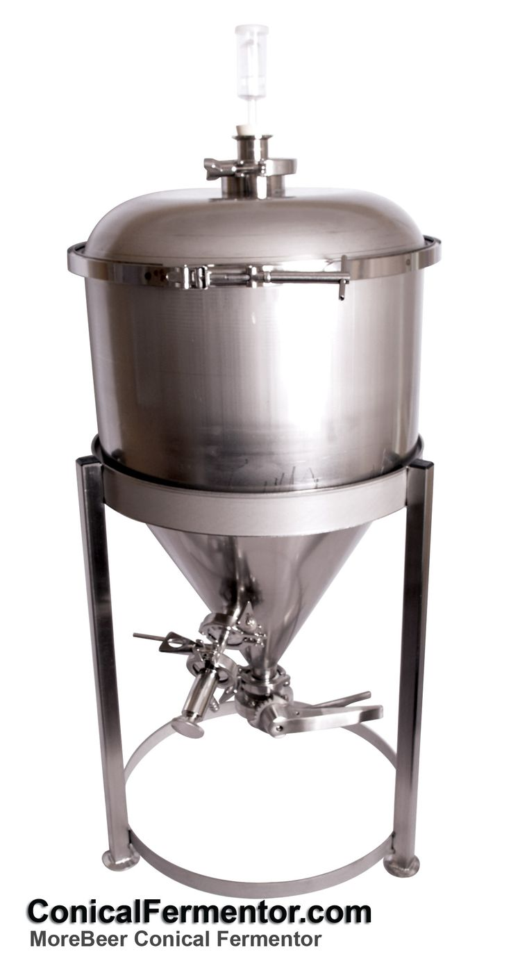 ConicalFermentor.com MoreBeer Stainless Steel Conical Fermentor  http://www.conicalfermentor.com