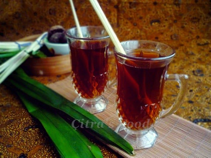 Citra's Home Diary: Wedang Sereh (Lemongrass herb drink) for chill days. #indonesianbeverages #minumantradisional #wedangsereh