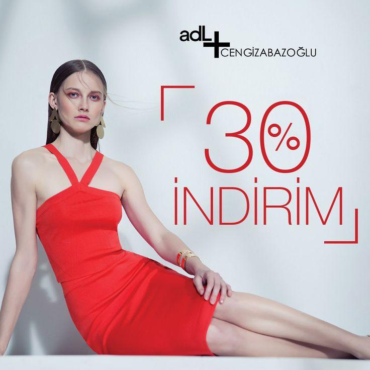 adL Cengiz Abazoğlu yaz koleksiyonu, modaseverler için 29 Temmuz'dan itibaren %30 indirimde! adL #Espark zemin katta.