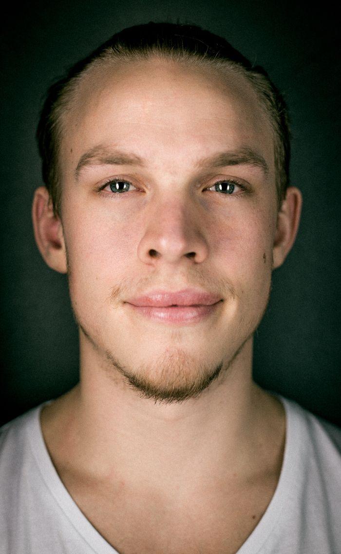 Portrait of Rasmus Pettersson www.grafikeriet.se
