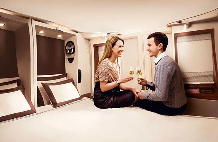 Sov gott i dubbelsäng när du reser med din partner