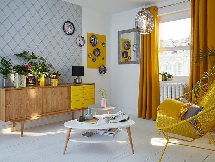 best 25 papier peint contemporain ideas on pinterest. Black Bedroom Furniture Sets. Home Design Ideas