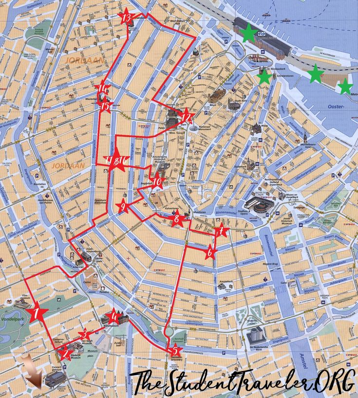 Ultimate Self-Guided Walking Tour of Amsterdam