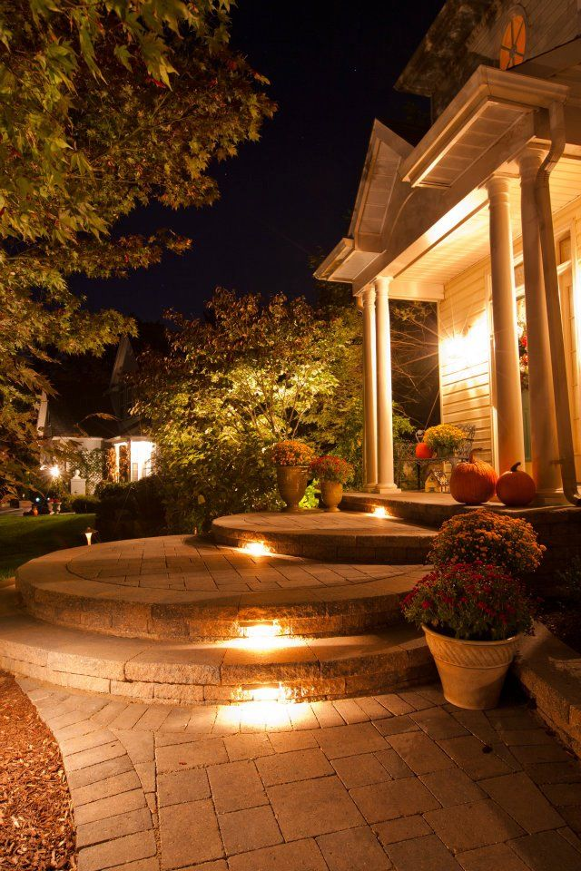 Front Walkway with Steps Ideas | ... Carosiello Residence ...