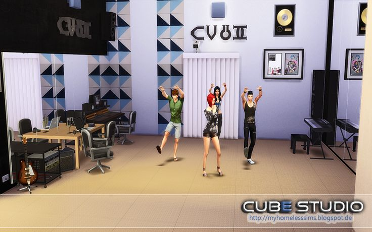 "from the lot ""Cube Studio"" Dance Room"