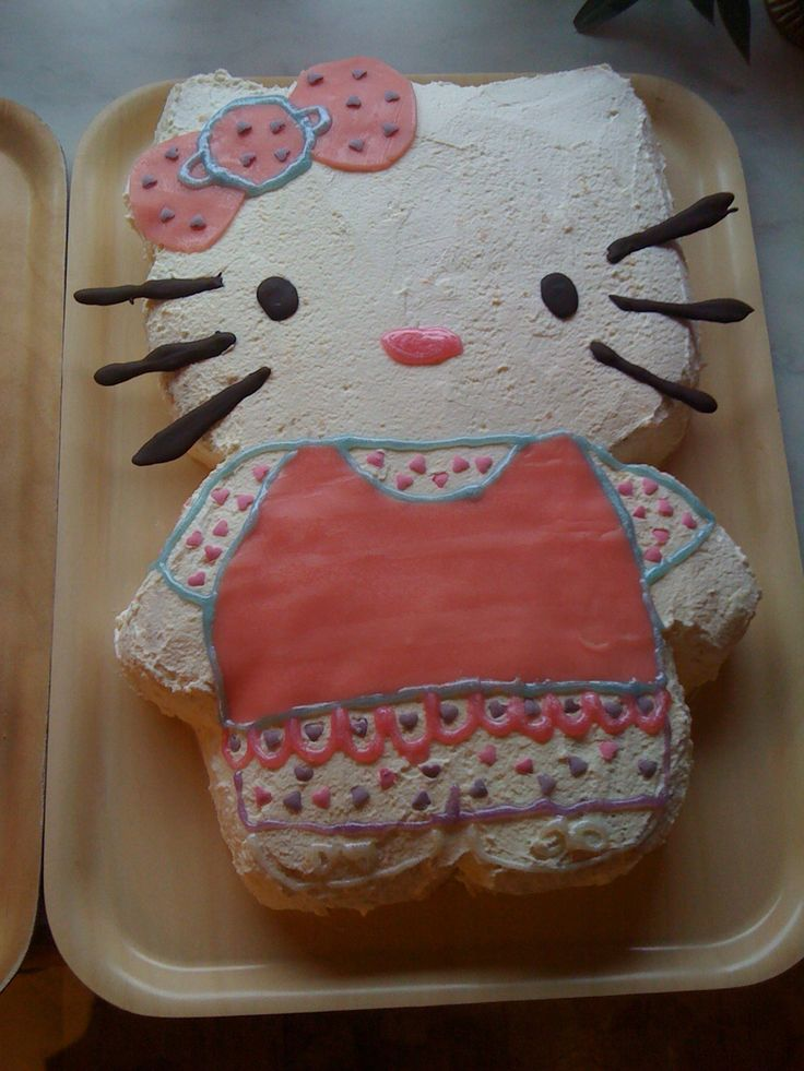 Hello Kitty tårta