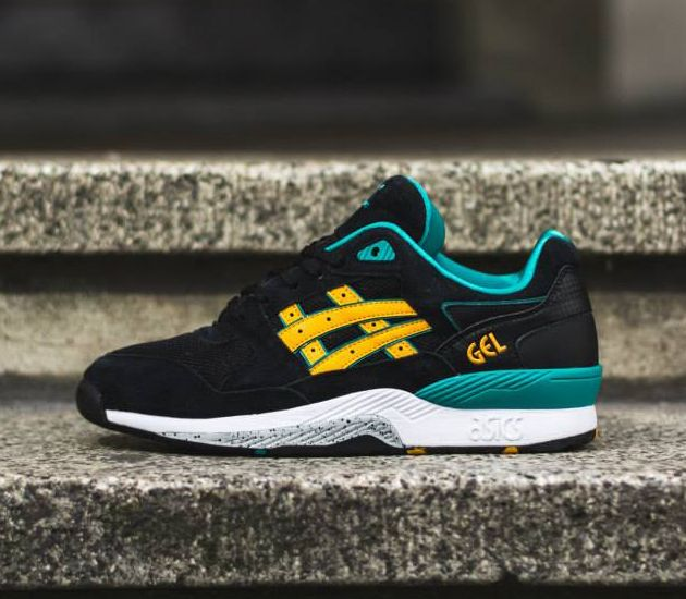 Asics GT-Quick - Black/ Gold Fusion Fashion Style