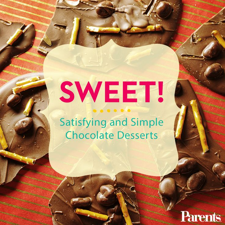 From brownies to cookies to candies, these sweet, #chocolate #desserts are easy to make (and even easier to eat).