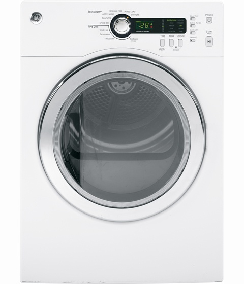 """GE  24"""" White Only Stacked DRYER Front Load"""