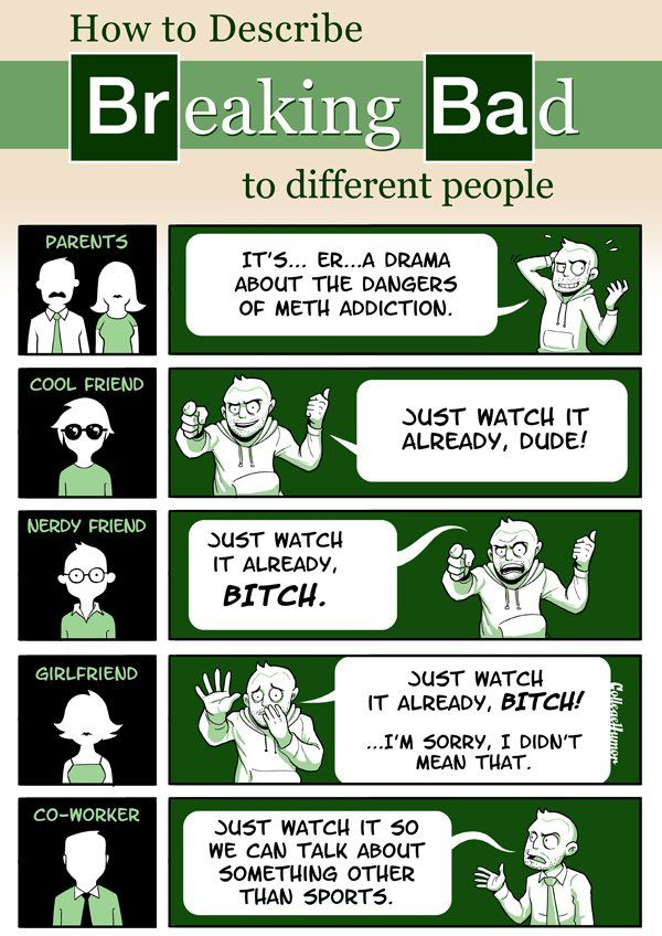 How to Explain a TV Show to Different People  - Breaking Bad