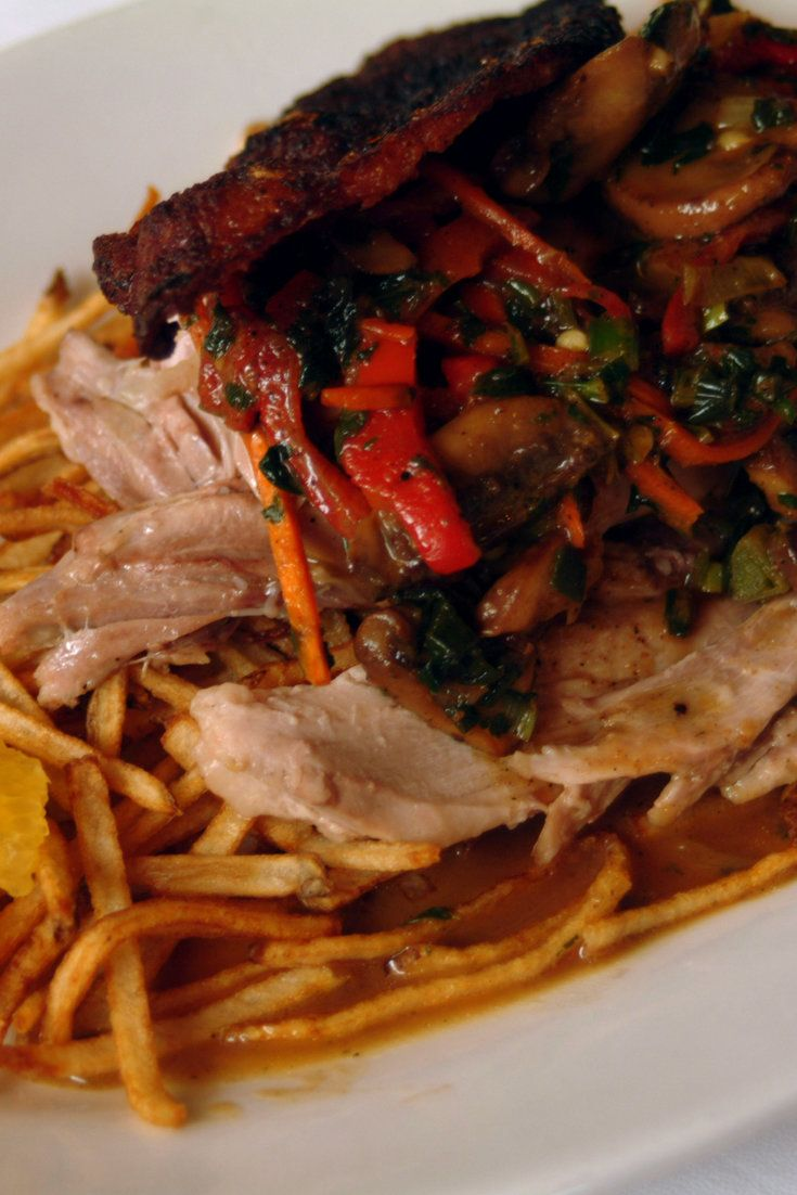 Slow Roasted Duck With Orange-Sherry Sauce | Recipe