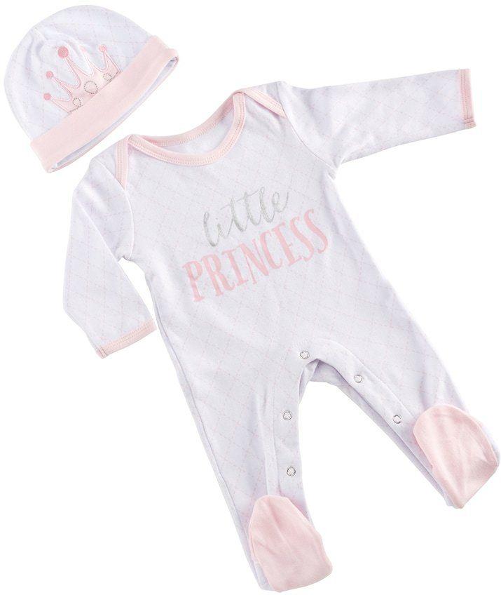 Baby Aspen Little Princess Pajama Gift Set #ad #baby #babygirl #babyclothes #pajamas #girl #girlmom #babyclothing #littleprincess