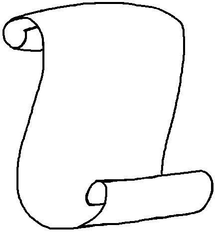 Resultado de imagen para dibujo pergamino para imprimir