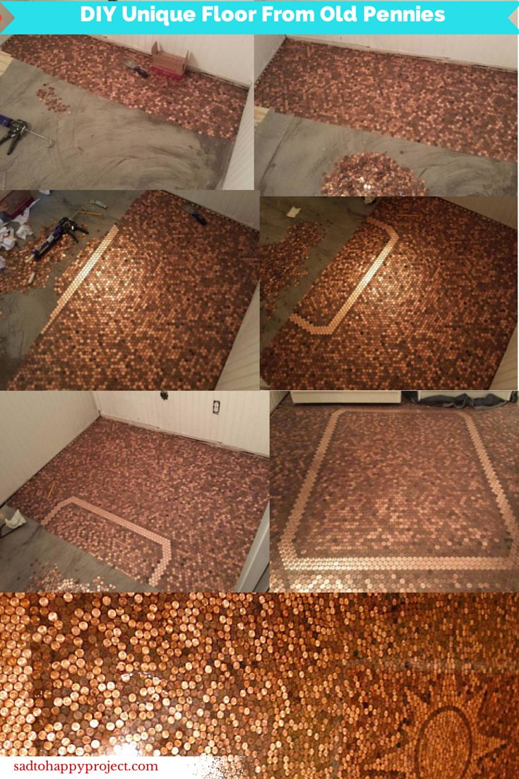 434 best images about copper on pinterest copper copper for Copper tile pennies