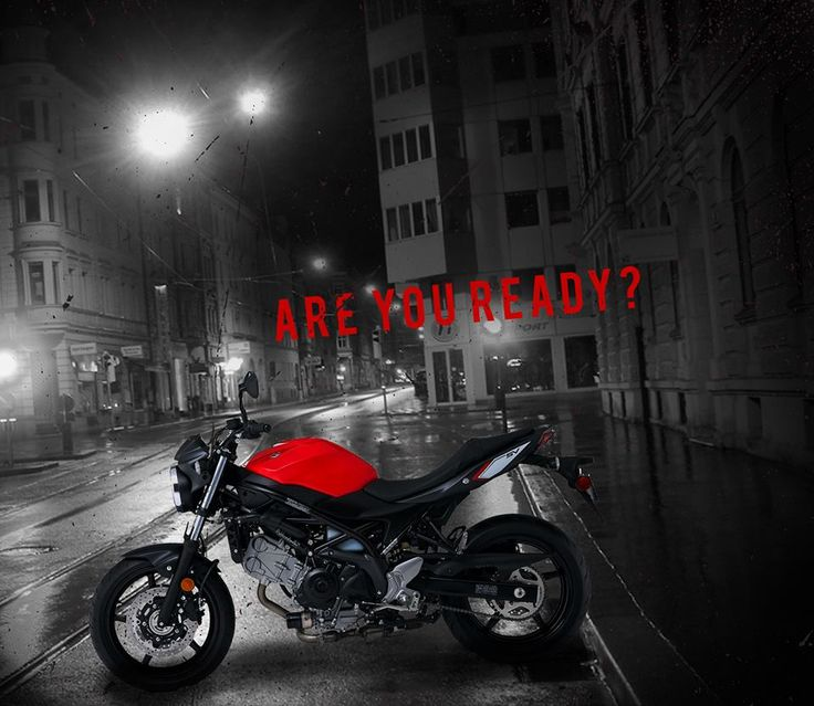 SV650 in Red!