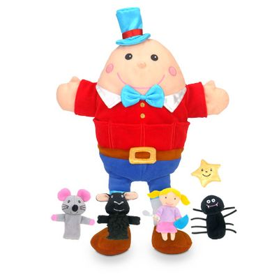 Nursery Rhymes  - Hand & Finger Puppets