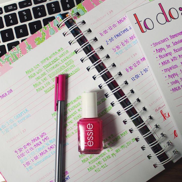 lilly agenda organization | agenda | college agenda  lilly pulitzer
