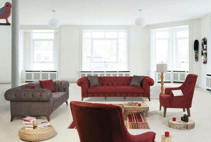 Kayra Koltuk Takımı - Koltuk Takımları - Gizem Tasarım Mobilya Dekorasyon İzmir Mobilya Karabağlar Kısıkköy