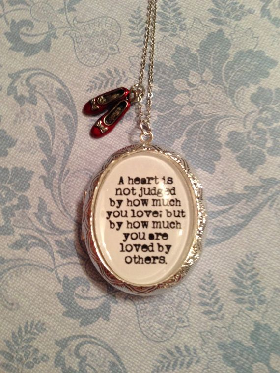 Wizard Of Oz Quote Locket On Etsy, $2200  Tattoos. Kundhan Gold Jewellery. Warm Skin Tone Gold Jewellery. Fusion Gold Jewellery. Anika Gold Jewellery. Wedding Vidya Balan Gold Jewellery. Jewellery Model Gold Jewellery. Glod Gold Jewellery. Nose Ring Gold Jewellery