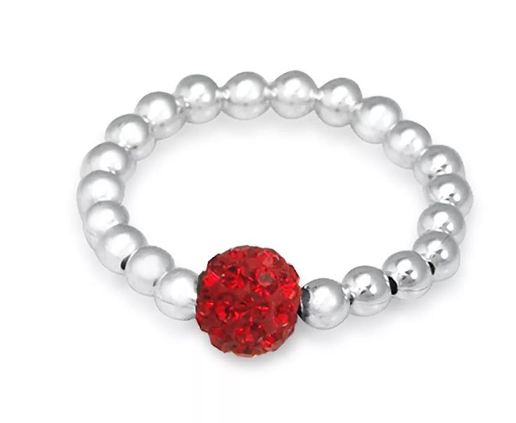 Red Shambala Bling Ring