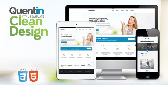 ThemeForest - Quentin - Premium Multipurpose Responsive Template