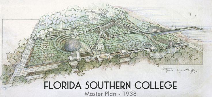 Florida Southern College, Master Plan. Lakeland, Florida