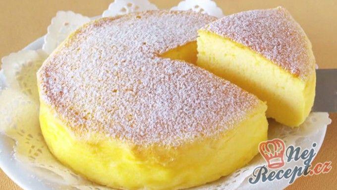 Japonský cheesecake JEN ze tří surovin