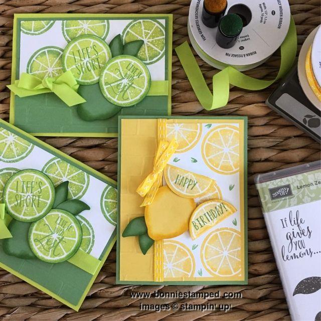 Lemon Zest- Stampin' Up!