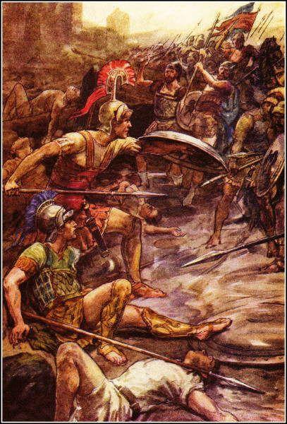 Pelópidas, Epaminondas y el Batallón Sagrado de Tebas