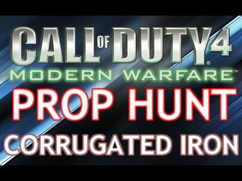 Cod 4: Prop Hunt - Corrugated Iron
