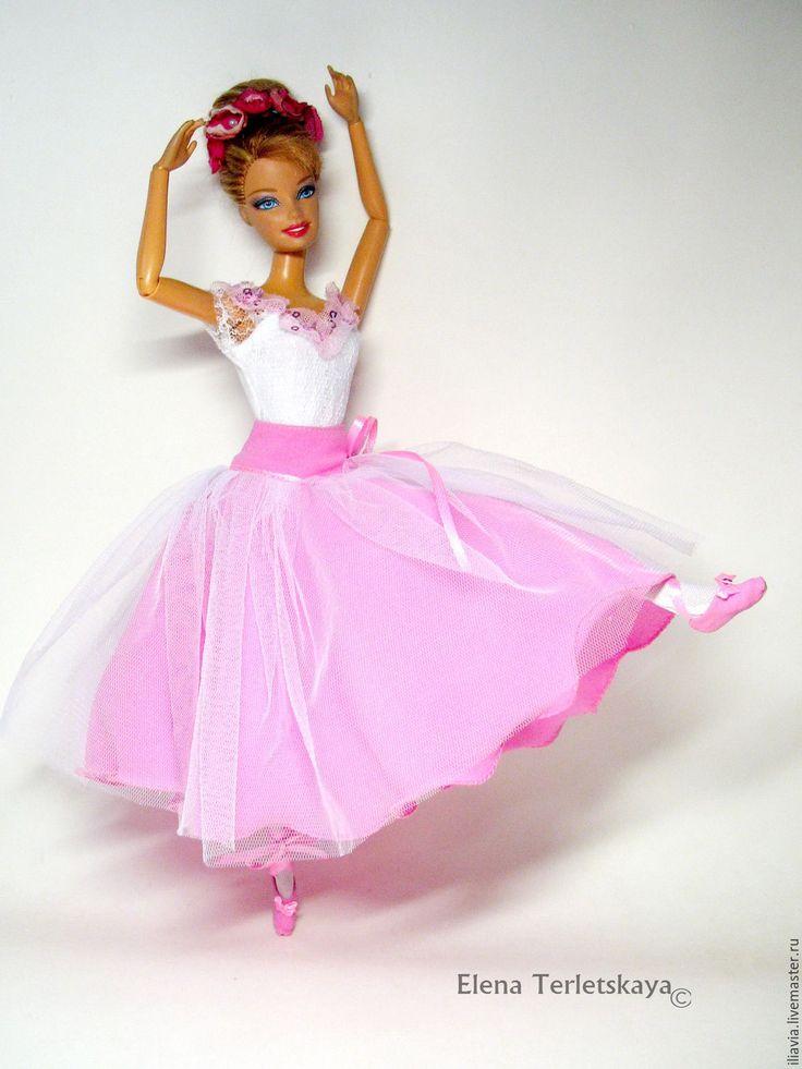 Купить Костюм Балерины для куклы. - платье для куклы, костюм для куклы, для куклы на заказ, одежда для куклы