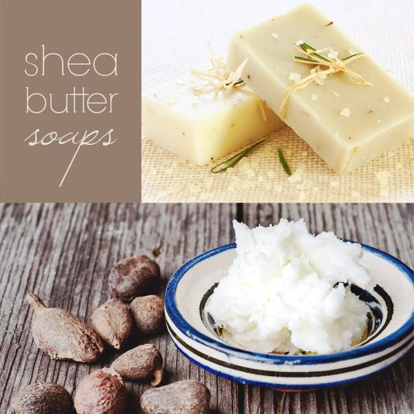 Homemade Shea butter Soap - Inspire Beauty Tips